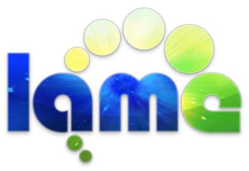 A candyfied version of the LAME MP3 encoder logo, now IN SPACE!!!