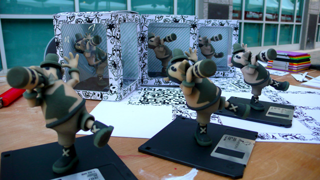 A photo of the packaging for the Seymore Brews collectable figurine - 1 of 5 - taken at Craft Lake City 2010